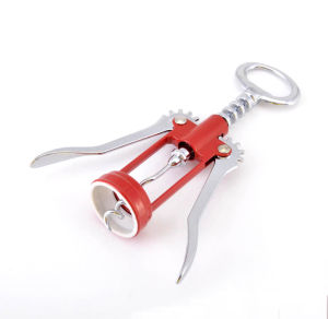 Chinese Zinc Alloy Corkscrew Wine Opener pictures & photos