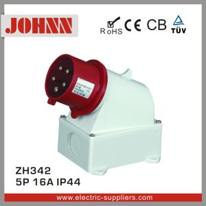 IP44 5p 16A Surface Mounted Plug pictures & photos