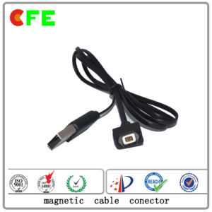 Customized Male and Female Magnetic Cable Connector pictures & photos
