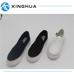 Rubber Shoes Canvas Cheap Casual Footwear pictures & photos