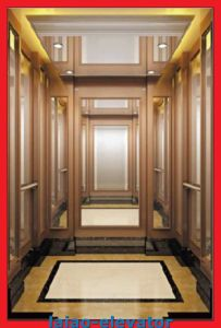 Hairline Stainless Steel 304 Model Passenger Lift pictures & photos