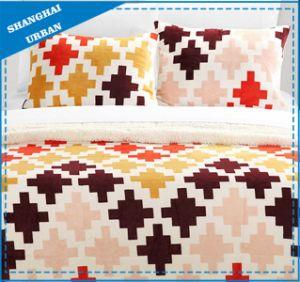 Puzzle Piece Design Printed Cotton Duvet Cover Bedding pictures & photos