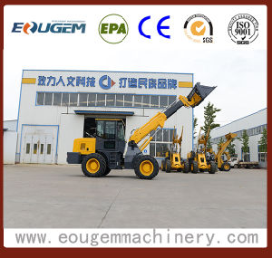 China Farm Machine Telescopic Boom Loader T2000 2ton pictures & photos