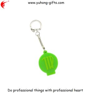 Cheap Custom Fashion Keychain Silicone Rubber Keyring (YH-KC162) pictures & photos