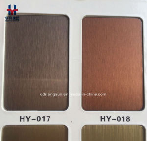 Elevator Lift Material Stainless Steel Colored Sheet Plate pictures & photos