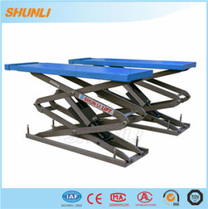 Double Hydraulic Drive Car Scissor Lift pictures & photos