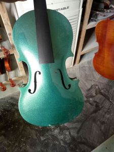 Colour Plywood Acoustic Practice Violin Factory Price pictures & photos