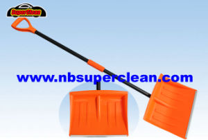 Plastic Snow Shovel with Long Handle (CN2379) pictures & photos