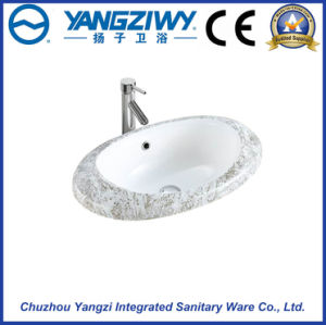 Ceramic Sanitary Ware Art Basin (YZ1305) pictures & photos