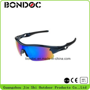 High Quality Fashion Protection Helmet Compatible Sport Glasses pictures & photos