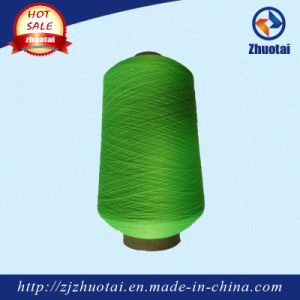 Polyester Yarn Dope Dyed Textured Yarn 150/36 /2 SD for Sweater Socks pictures & photos