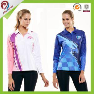 Custom Made Design Men Long Sleeve Polo Shirt pictures & photos