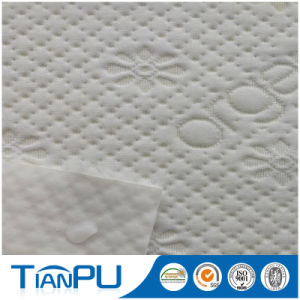 100 Polyester PU Coating Waterproof Mattress Protector Fabric pictures & photos