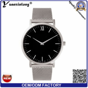 Yxl-030 China Nice Supplier Quartz Movement Minimalist Leather Custom Made Watch Man pictures & photos