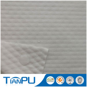 Laminated 100% Polyester Knitted Fabric for Mattress Protector pictures & photos