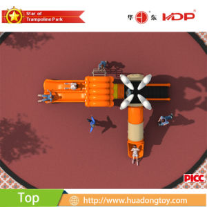 2017 Outdoor Playground Equipment Play Set Dream Xiangyun House Serise (HD17-022A) pictures & photos
