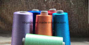 Hot Product Bright Viscose Rayon Filament Yarn 150d/2 in Raw White pictures & photos