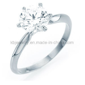 6prongs Setting Diamond Ring 925 Sterling Silver Jewelry (R1907) pictures & photos