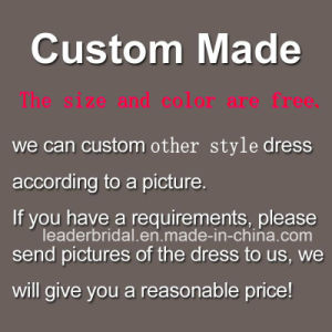 2017 Pink Bridal Gowns 3/4 Sleeves Sheer Wedding Dress Lb285 pictures & photos