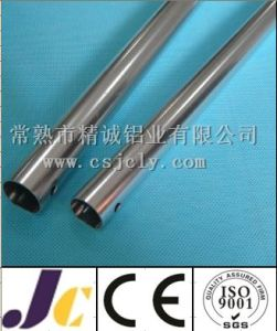 Bright Silver Anodized Aluminum Pipe, Round Aluminum Pipe (JC-C-90040) pictures & photos