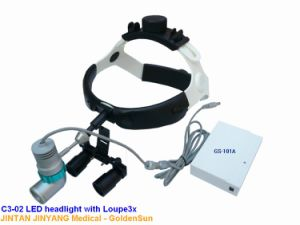 Headband Dental Surgical Loupes with LED Light pictures & photos