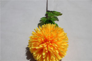 Artificial Flowers Wholesale Real Touch Yellow Hydrangea pictures & photos