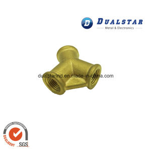 Three Way Brass Coupling for Sanitary Machine