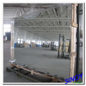 Hot Sale! 3mm Aluminum Mirror Glass 1830 X 2440mm, Double Coated with Magnetron Sputtering Vacuum Coating Technology pictures & photos