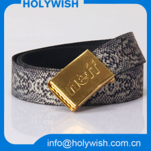 Fashion Ganment Acc Fabric Custom Webbing Belt for Women