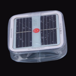 New Arrival Mini Cube Solar Panel LED Light Waterproof Inflatable Solar Lantern for Outdoor Camping & Household pictures & photos