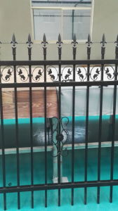 Powder Coated Outdoor Wrought Iron Railings pictures & photos