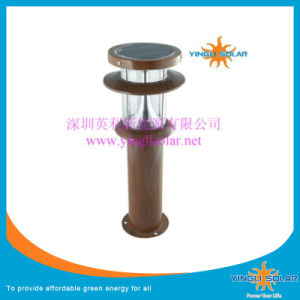 Solar Garden Light/Lawn Lamp with High-Grade Silicon Mono Solar Panel pictures & photos