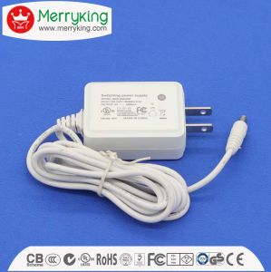 12V1a 12W Universal AC/DC Adapter with Us Plug pictures & photos