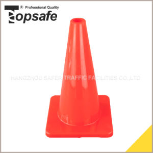 Soft PVC Material Traffic Cone 18inch (S-1231) pictures & photos