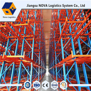 Heavy Duty Very Narrow Aisle Rack Manufacture in China pictures & photos
