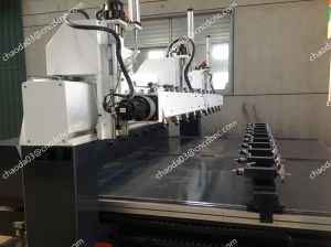 5 Axis 3D Carving Engraver for Cylinder Column Sculptures pictures & photos