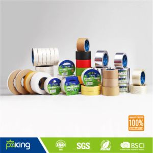 Supply White and Light Yellow General Purpose Masking Tape pictures & photos