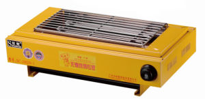 Easily Assembled Industrial Electric Barbecue Grill for Sale pictures & photos