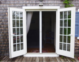 Powder Coating Soundproof French Doors, 2 Panel Casement Door pictures & photos