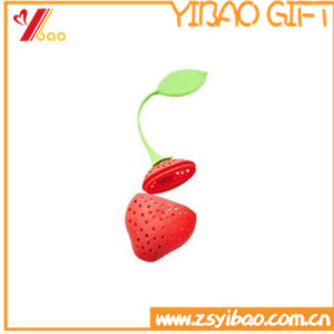 2017 Silicone Strawberry Tea Infuser Strainer Herbal Spice Infuser Filter Tools pictures & photos