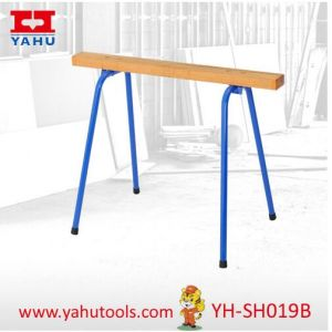 Foldable Trestle Table Legs Sawhorse Work Table (YH-SH019B) pictures & photos