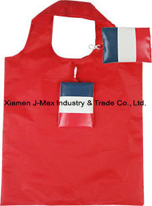 Foldable Flag Shopping Bag, Flag, Reusable, Lightweight, Promotion, Grocery Bags and Handy, Sports Events, Accessories & Decoration pictures & photos