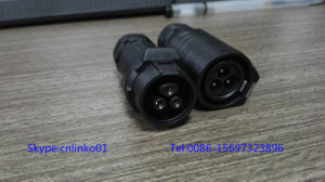 Lp16 Waterproof Connector for Lighting System and Audio/ 3pin Connector pictures & photos