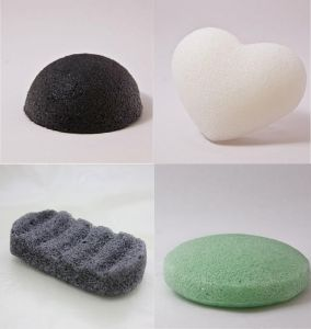 Konnyaku Sponge, Face Cleansing 100% Pure Natural Konjac Sponge pictures & photos