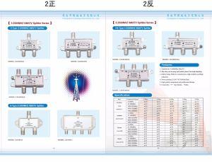 5-2450MHz 3 Way Smatv Splitter (SHJ-TS8803) pictures & photos