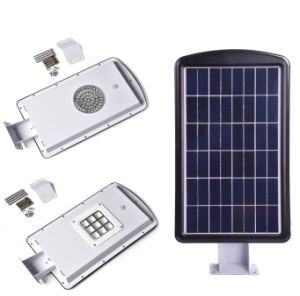 10W All-in-One Solar Garden&Street Light with Li-ion Battery