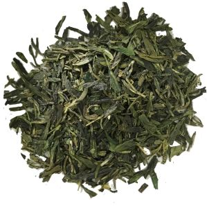 Organic Dragon Well Tea Olj2017A with EU and Nop Standards pictures & photos