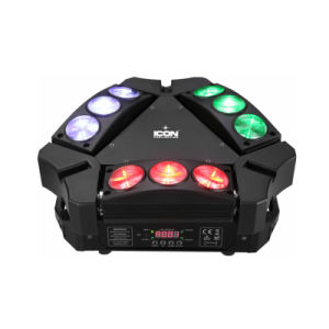 Mini 9X10W 4in1 LED Spider Moving Head Light pictures & photos