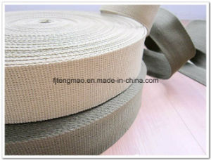 2.5cm Grey Cotton Webbing Belt for Bags pictures & photos