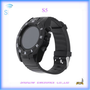 Multi-Function S5 Phone Call Fashion Andriod Smart Watch with Bluetooth Alarm Clock pictures & photos